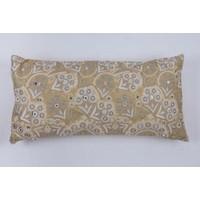 Cushion bohemian natural oblong 35 x 70 cm