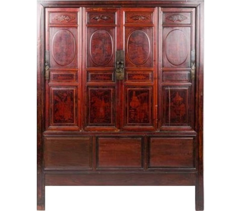 Antique Chinese Cupboard with Inside Drawers