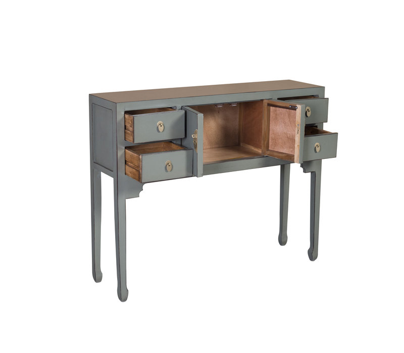 Chinese Sidetable Olive Grey - Orientique Collectie B100xD26xH80cm