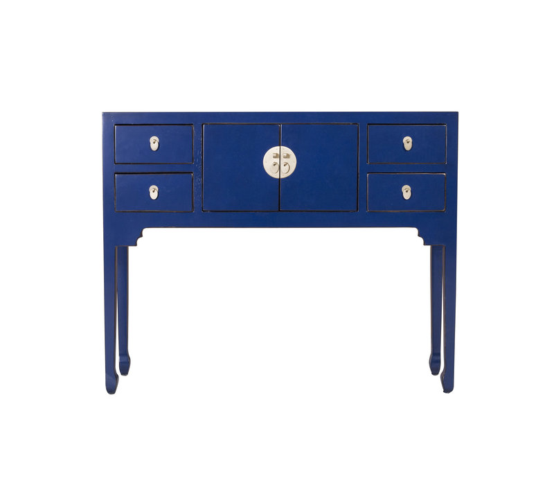 Chinese Sidetable Midnight Blue - Orientique Collectie B100xD26xH80cm