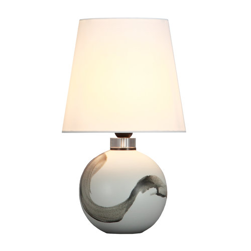 Fine Asianliving Chinese Table Lamp Contemporary D25xH43cm