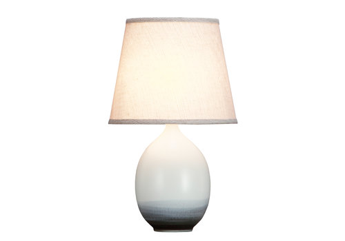 Fine Asianliving Lámpara de Mesa de Porcelana Contemporánea D.28xA46cm