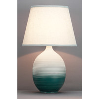 Chinese Table Lamp Relief Ombré D34xH53cm
