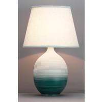 Lampada da Tavolo Cinese Rilievo Ombré D34xA53cm