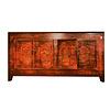 Fine Asianliving Antieke Chinese Dressoir Rood Handbeschilderd B153xD45xH79cm