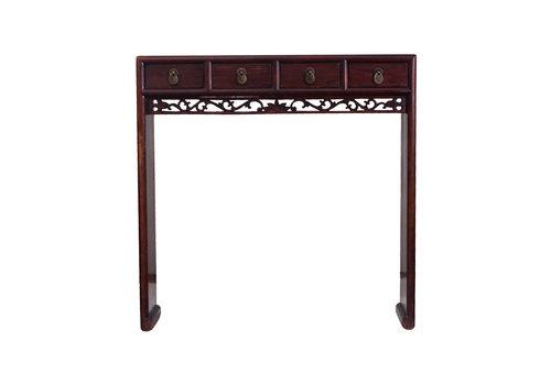 Fine Asianliving Antiker Chinesischer Konsolentisch Beistelltisch Details Klein - Zhejiang, China