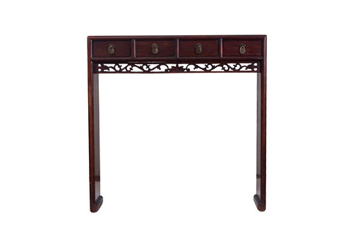 Fine Asianliving Console Chinoise Antique 4 Tiroirs - Zhejiang, Chine