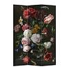 Fine Asianliving Room Divider Privacy Screen 3 Panels W120xH180cm Jan Davidz van Heem Still Life