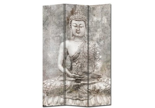 Fine Asianliving Room Divider Privacy Screen 3 Panels W120xH180cm Buddha