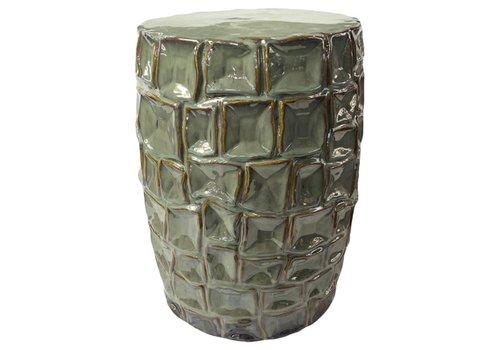 Fine Asianliving Tabouret en Céramique Chinois Porcelaine Fait Main D33xH45cm