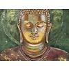 Fine Asianliving Schilderij Boeddha Handgeschilderd