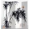 Fine Asianliving Kamerscherm Scheidingswand B160xH180cm 4 Panelen Bamboe