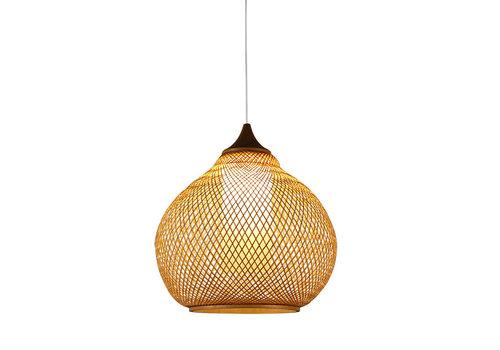 Fine Asianliving Lampe Bambus Webbing Handgefertigt - Rosalyn D41xH35cm