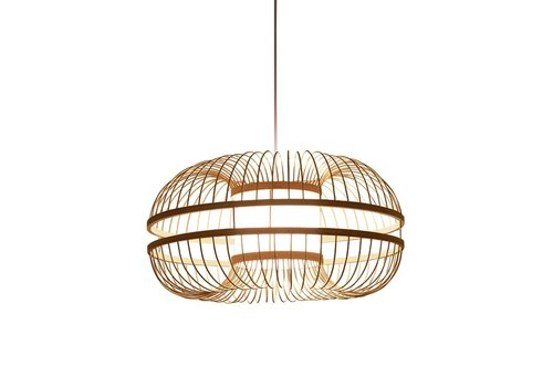 Fine Asianliving Bamboe Hanglamp Handgemaakt - Fiona