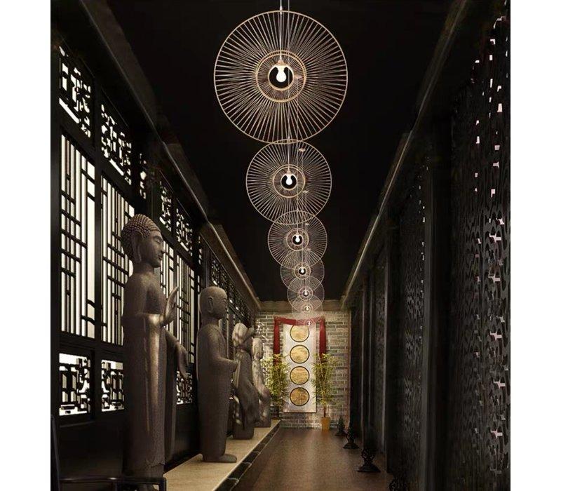 Pendelleuchte Hängelampe Bambus Handgefertigt - Gracious D60cm