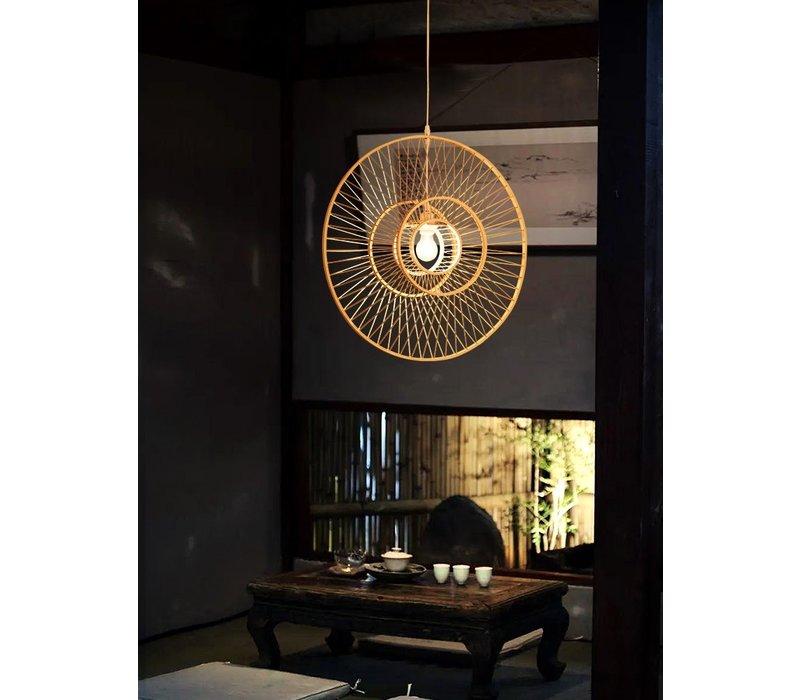 Bamboe Hanglamp Handgemaakt - Gracious D60cm