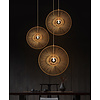 Fine Asianliving Lampada a Sospensione in Bambù Fatta a Mano - Gracious D60cm