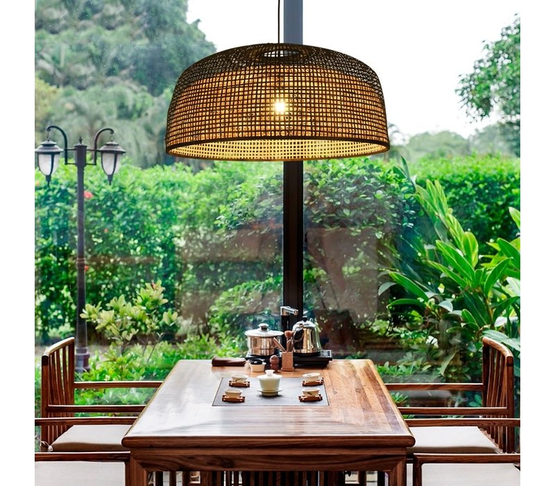 Lampada a Sospensione in Bambù Fatta a Mano - Sydney D65xA30cm