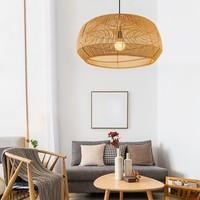 Bamboe Webbing Hanglamp Handgemaakt - Amanda D63xH35cm