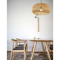 Bamboe Webbing Lamp D43xH25cm Ada