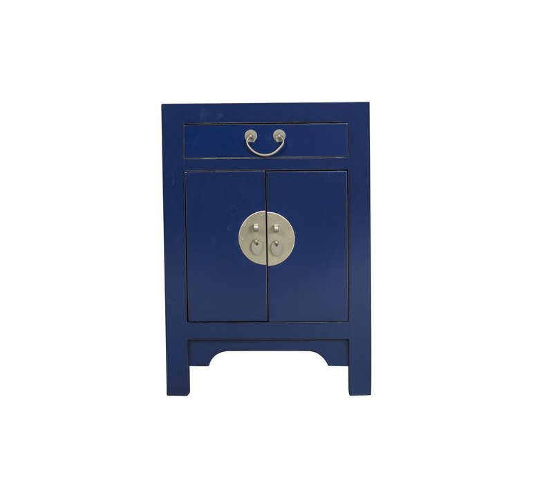 Chinees Nachtkastje Midnight Blue B42xD35xH60cm