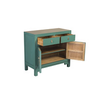 Chinese Kast Pine Green - Orientique Collection B90xD40xH80cm