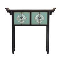 Tibetaanse Sidetable Handbeschilderde Details B102xD30xH95cm