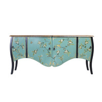 Chinese Sideboard Blue Handpainted W186xD54xH89cm