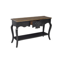 Chinese Console Table Black W140xD45xH85cm