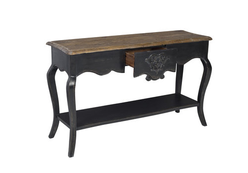 Fine Asianliving Chinese Console Table Black W140xD45xH85cm