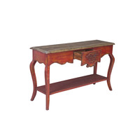 Chinese Console Table Red W140xD45xH85cm