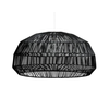 Fine Asianliving Bamboe Hanglamp Zwart - Andy D53xH30cm