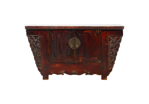 Fine Asianliving Antique Chinese Cabinet Handcarved W101xD43xH56cm