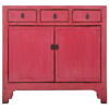 Fine Asianliving Antieke Chinese Dressoir Roos Roze Glossy B104xD40xH98cm