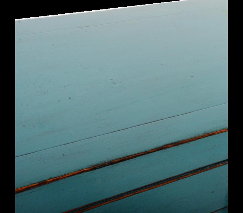 Antieke Chinese Dressoir Blauw Glossy B154xD40xH92cm