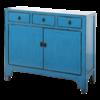 Fine Asianliving Antieke Chinese Dressoir Blauw Glossy B111xD39xH96cm
