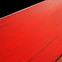 Antieke Chinese Sidetable Rood Glossy B101xD45xH86cm