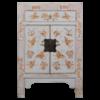 Fine Asianliving Chinese Kast Grijs Handgeschilderd Vlinders B58xD37xH85cm
