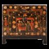Fine Asianliving Antieke Chinese Kast Handgeschilderd B88xD38xH77cm