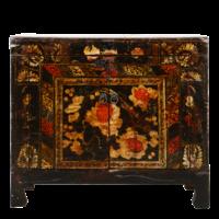 Antieke Chinese Kast Handgeschilderd B85xD40xH74cm