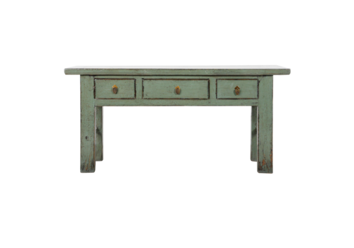 Fine Asianliving Antieke Chinese Sidetable Mint Glossy B171xD45xH83cm