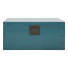 Fine Asianliving Antieke Chinese Kist Blauw Glossy B90xD54xH45cm
