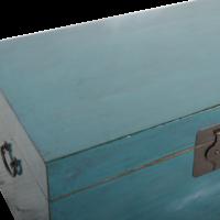 Antieke Chinese Kist Blauw Glossy B90xD54xH45cm