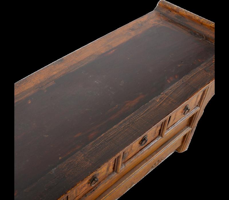 Antieke Chinese Kast Handgemaakt B107xD41xH47cm