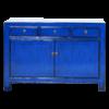 Fine Asianliving Antieke Chinese Dressoir Navy Blauw Glossy B130xD39xH91cm