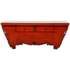 Fine Asianliving Antieke Chinese TV Kast Rood Glossy B107xD44xH42cm