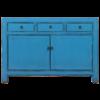 Fine Asianliving Antieke Chinese Dressoir Blauw Glossy B130xD40xH90