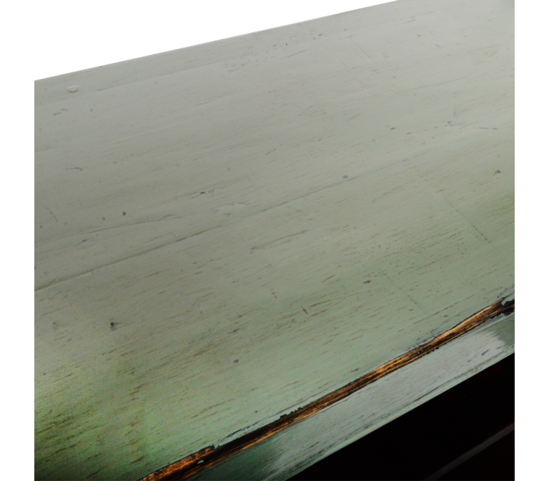 Antieke Chinese Dressoir Mint Grijs Glossy B150xD40xH90cm