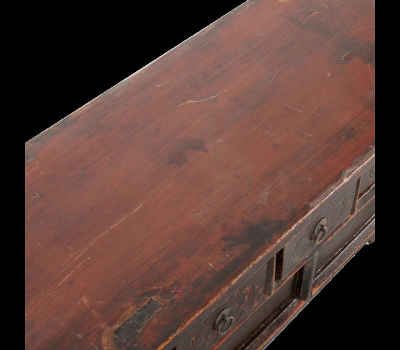 Antieke Chinese Kast Handgemaakt B101xD37xH39cm