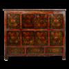 Fine Asianliving Antieke Tibetaanse Kast Handgemaakt B143xD47xH119cm